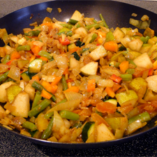 Capetown Fruit and Vegetable Curry