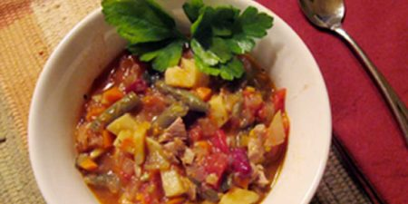 California – Veggie – Chicken Stew
